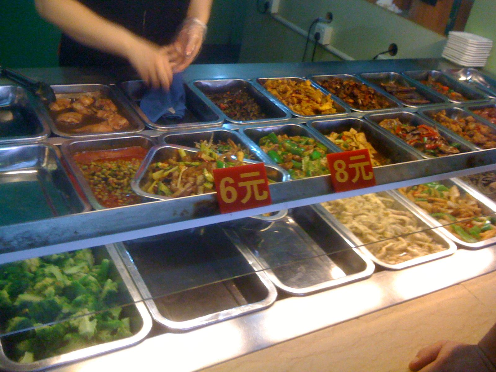 中国の大衆食堂再び。