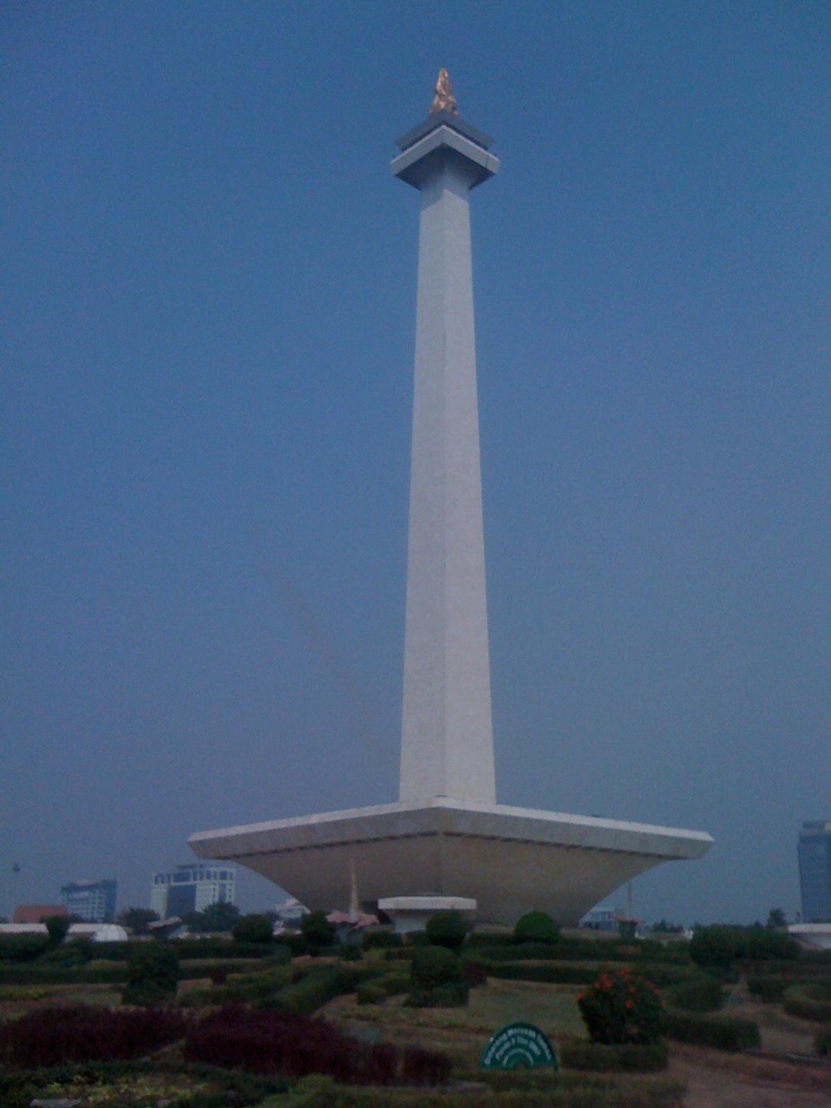 インドネシア独立記念塔(モナス)