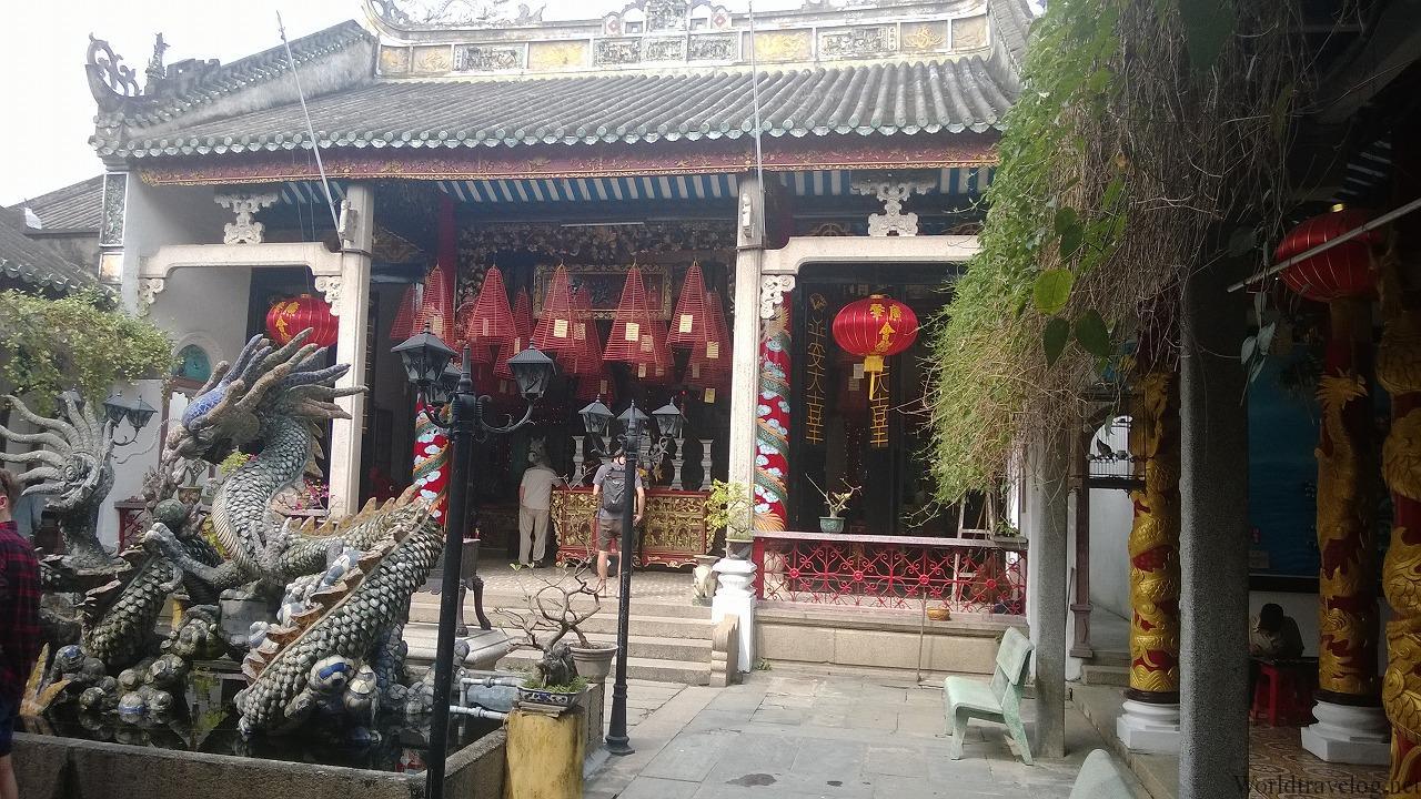 ホイアン五大華人会館+明郷華先堂をコンプする(福建・中華・廣肇)