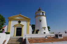 マカオの街が見下ろせる絶景スポット・ギアの灯台