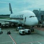 搭乗記 シンガポール航空 SQ494 B777-300ERファーストクラス シンガポール⇒ドバイ