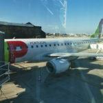 搭乗記 TAPポルトガル航空 国内線E190エコノミー ポルト⇒リスボン