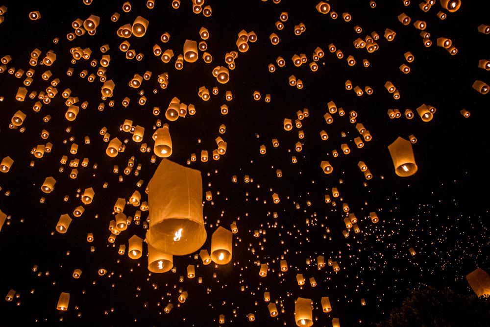 チェンマイの夜 2014年度はチェンマイで年越し