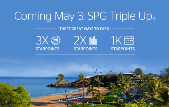 SPG 2016年Q2プロモ SPG Triple Up